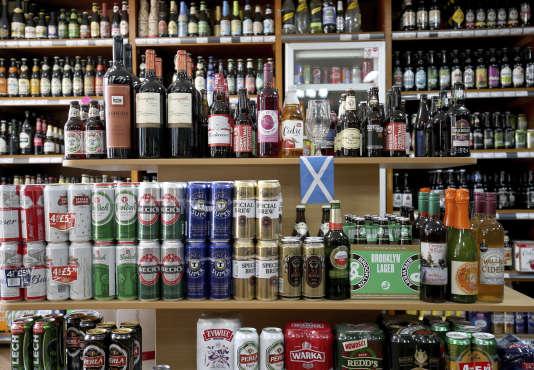 Dans une boutique d'Edimbourg, en Ecosse.