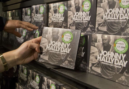 "Johnny Hallyday's posthumous album, ""My Country is Love"", has been in record stores since October 18th."