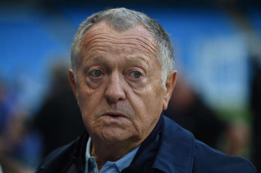 Jean-Michel Aulas, Manchester, 18 September.