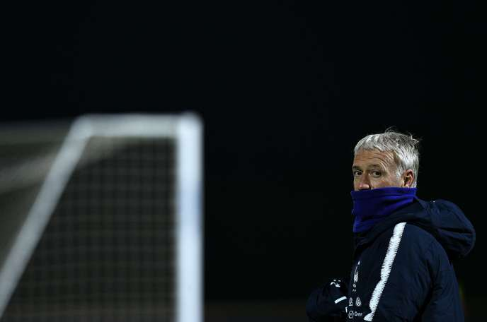 Didier Deschamps, Saturday 17 November, in Clairefontaine.