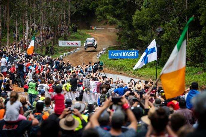 Sébastien Ogier-Julien Ingrassia's M-Sport Ford took the victory on November 18th in Coffs Harbor (Australia).