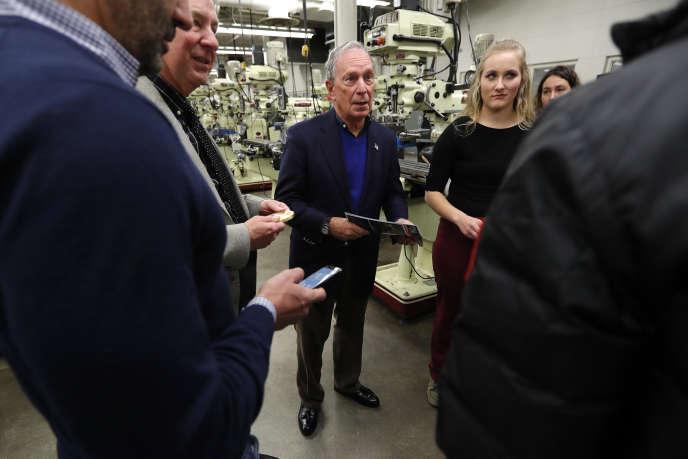 Michael Bloomberg, Ankeny, Iowa, December 4, 2018.