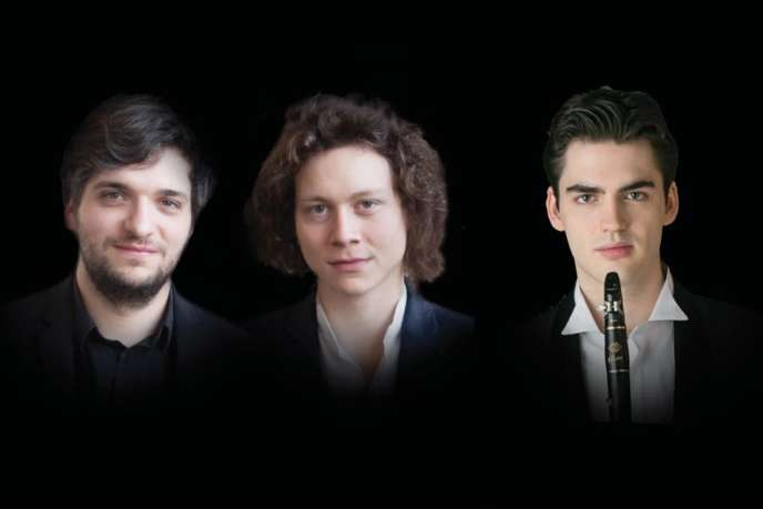 The young Trio Messiaen with Brahms clarinet in concert on 6, 7 and 8 December, at the Chamber Music Center in Paris.