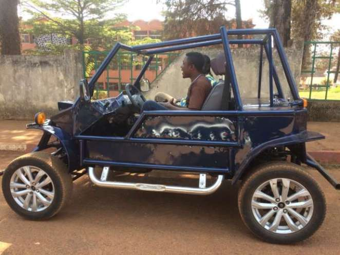 """A car """"made in Cameroon"""" made in the West of the country-Photos"""