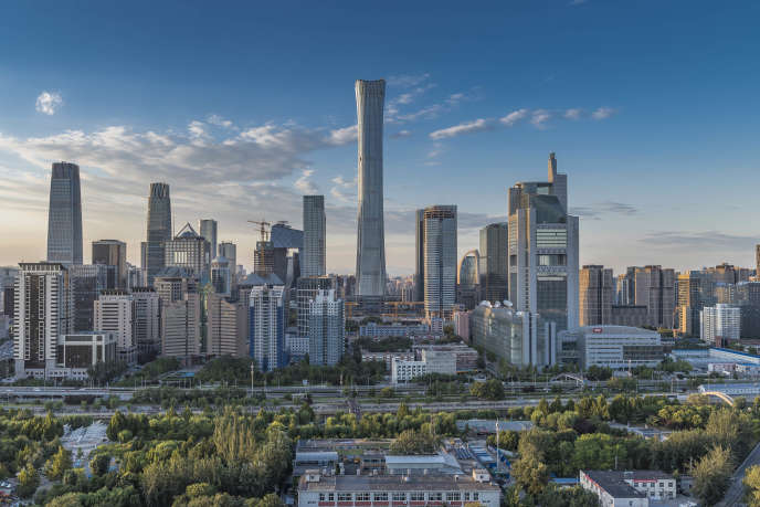 China Zun Tower in Beijing is 528 meters high. It is the tallest building completed in the world in 2018.