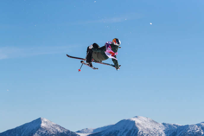 After her disappointment with the Olympics, Tess Ledeux got back on her skis.