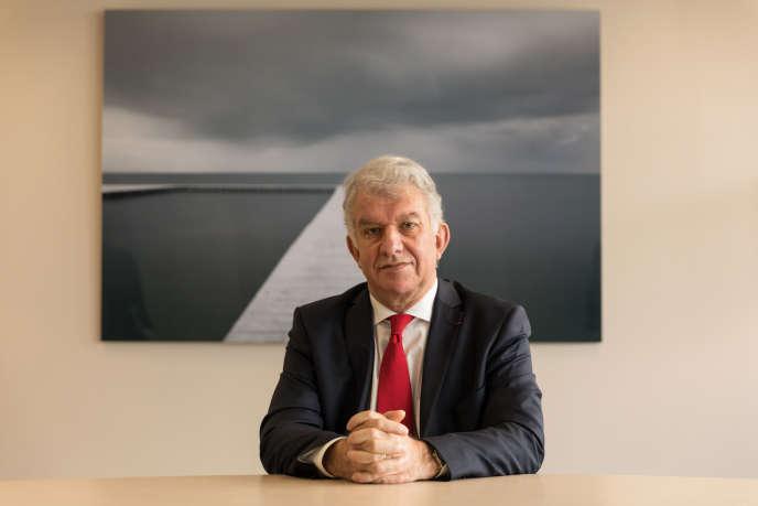 Yves Perrier, director general de Amundi Group, líder europeo en gestión de activos.