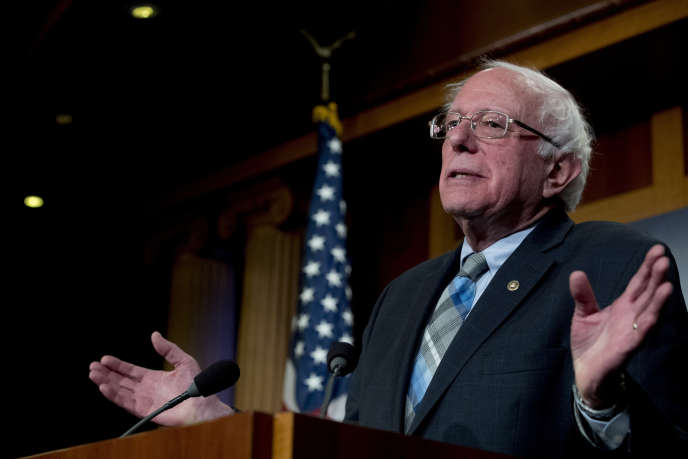 Bernie Sanders, 77, made the announcement in an interview broadcast by Vermont radio, a state of which he is elected.