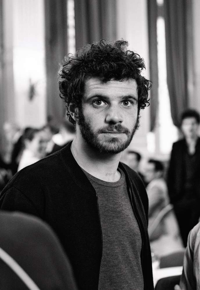 """At 28, Félix Moati has signed his first feature film, """"Deux fils""""."""