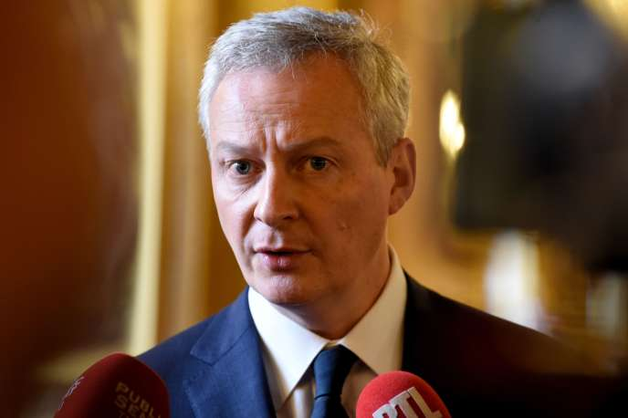 The Minister of Economy and Finance, and writer Bruno Le Maire, Paris, February 6.