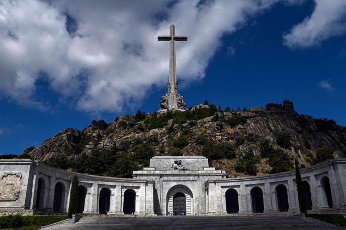 Le mausolée du Valle de los Caidos, à 66 km à l'ouest de Madrid, où se trouve la dépouille du dictateur espagnol Francisco Franco.