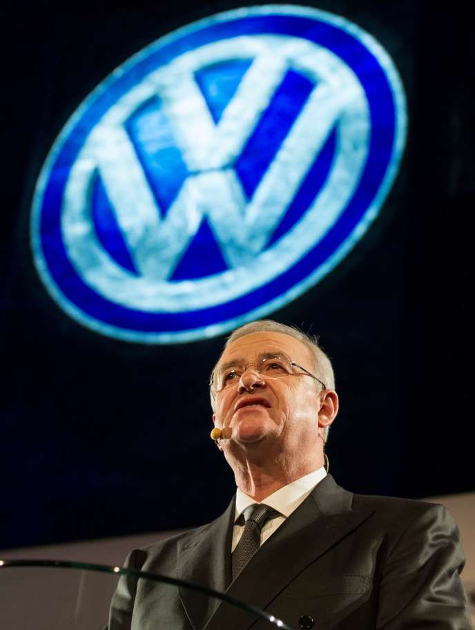 """Volkswagen said in 2016 that Martin Winterkorn had been made aware by a """"memo"""" dated May 2014 of irregularities in emissions levels in the United States."""