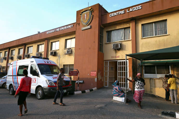 A hospital in Lagos, Nigeria, in March 2019.