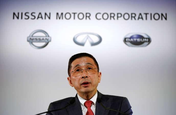 Hiran Saikawa, CEO von Nissan, im Mai 2017 in Yokohama, Japan.
