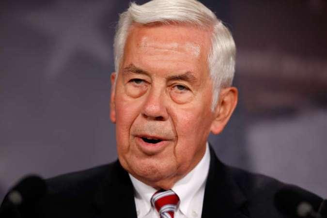 Le sénateur américain Richard Lugar (républicain) en juin 2010.