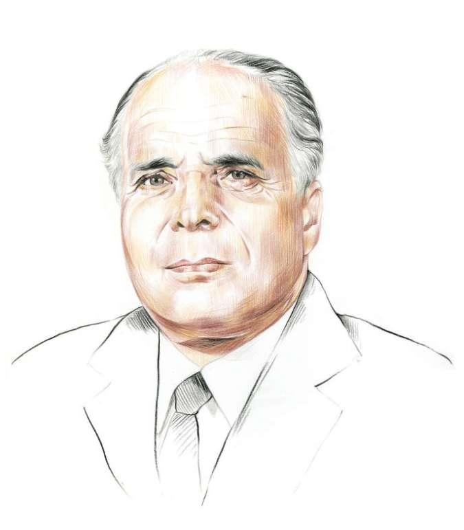 L'homme d'Etat tunisien Habib Bourguiba (v. 1903-2000).
