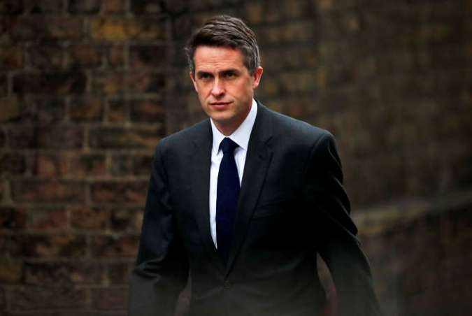Le ministre britannique de la défense, Gavin Williamson, à Londres le 2 avril.