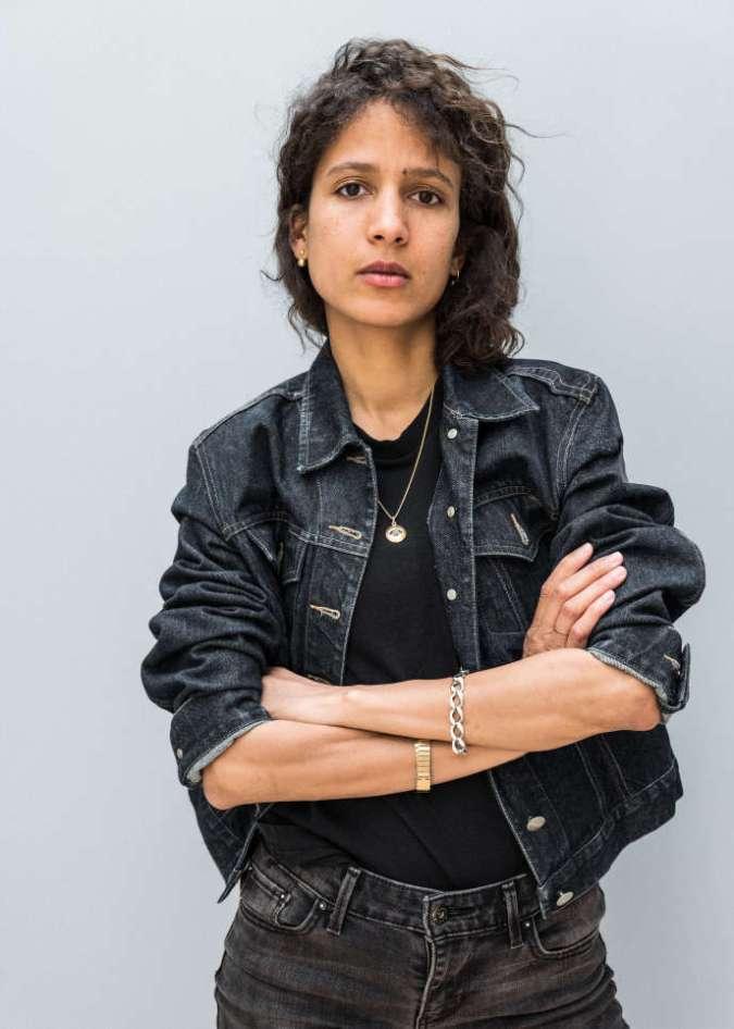 La réalisatrice franco-sénégalaise Mati Diop, en octobre2018.