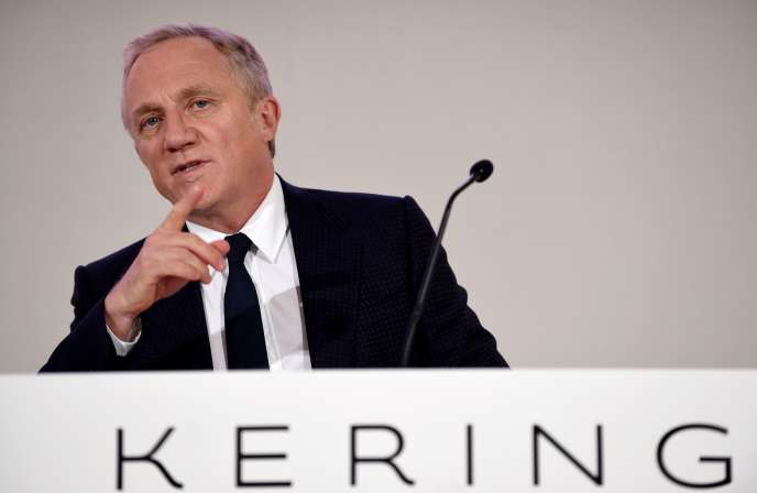 François-Henri Pinault in Paris, April 24.
