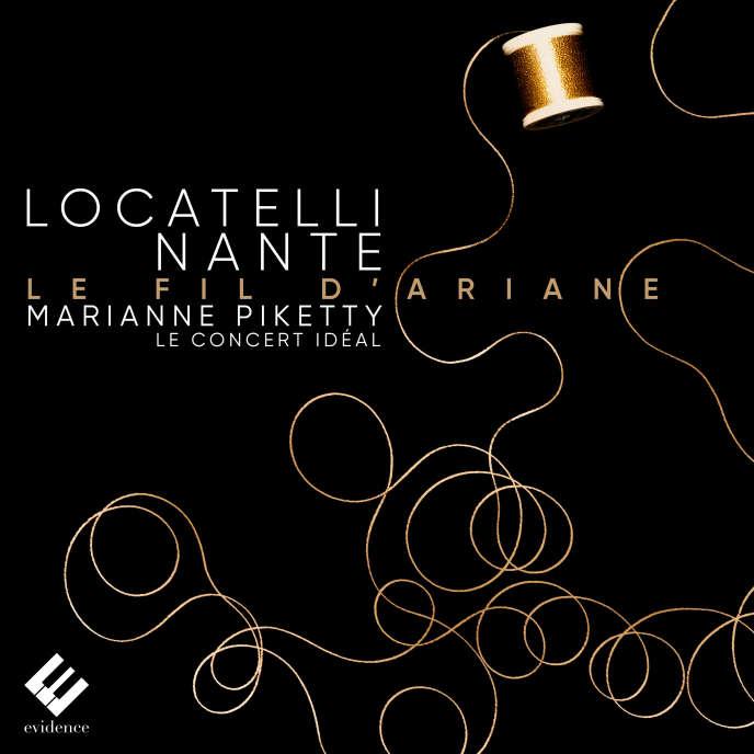 "Cover of the album ""Fil d'Ariane"" by Marianne Piketty between Pietro Antonio Locatelli."