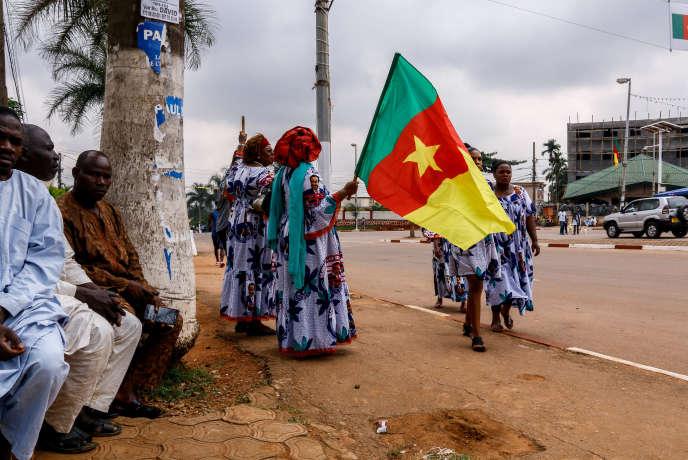 En las calles de Yaundé, la capital de Camerún, en noviembre de 2018.