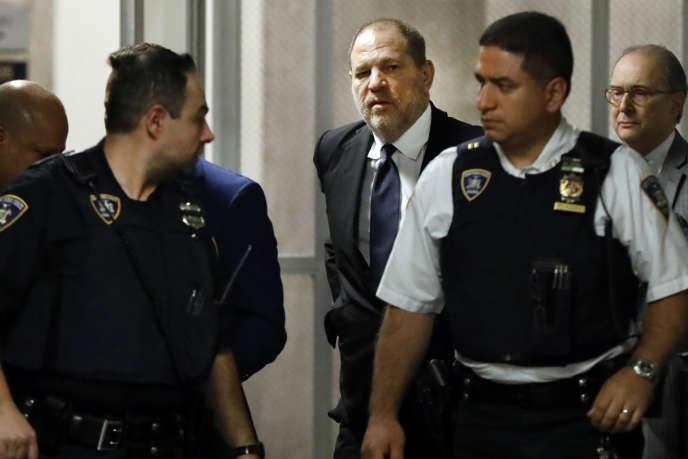 Harvey Weinstein lors d'une audience à New York le 26 avril.