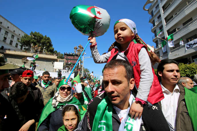 In Algier am 12. April 2019.