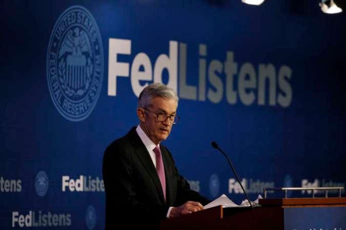 Le président de la Réserve fédérale américaine Jerome Powell à Chicago, le 4 juin.