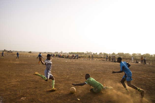 Lors d'un match entre les Gazelles et Dassari.