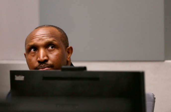 Congolese militiaman Bosco Ntaganda at the International Criminal Court in The Hague on 8 July 2019.