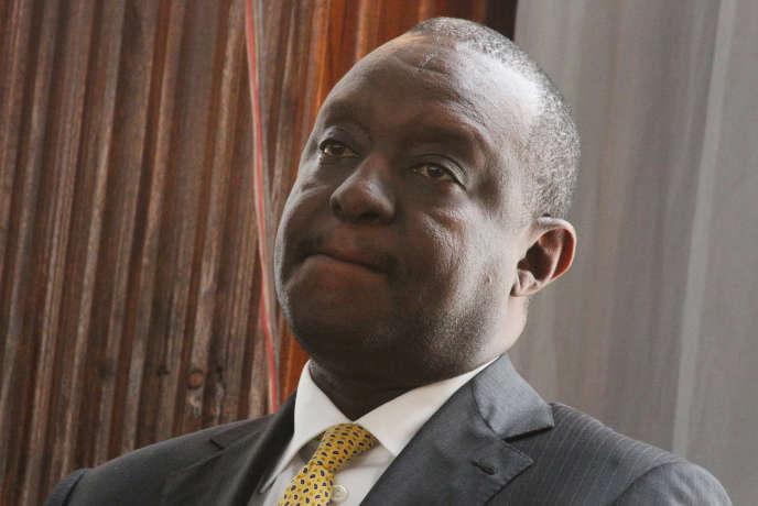 Le ministre des finanes kényan, Henry Rotich, à Nairobi, le 23 juillet.