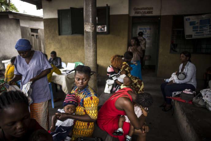 La maternité du centre de santé de Kitokimosi, à Kinshasa, en septembre 2019.