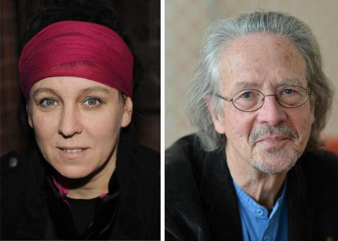 Olga Tokarczuk et Peter Handke.