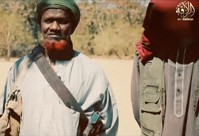 Le prédicateur djihadiste malien Amadou Koufa. Image de propagande de la katiba Macina tirée de la vidéo de Florian Plaucheur.