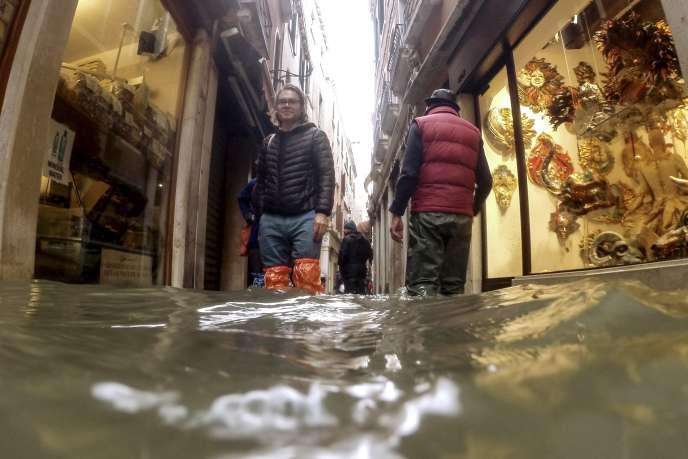 A Venezia, il 15 novembre, 2019.
