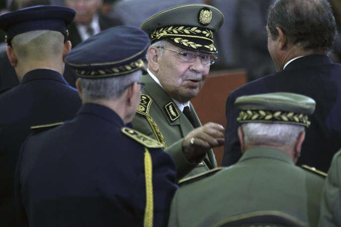 General Gaïd Salah am 19. Dezember während der Amtseinführung von Abdelmadjid Tebboune in Algier.