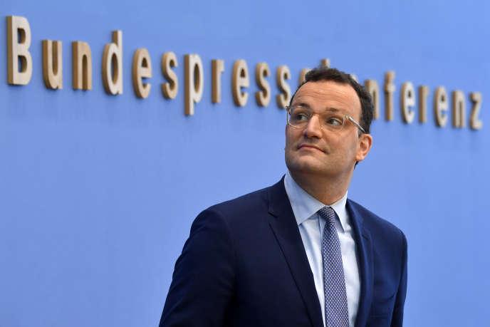 Le ministre allemand de la santé, Jens Spahn, le 17 avril à Berlin.