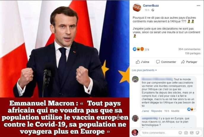 Emmanuel Macron Really Announced A Vaccine Obligation For Africans Here Are The Answers Level Magazine