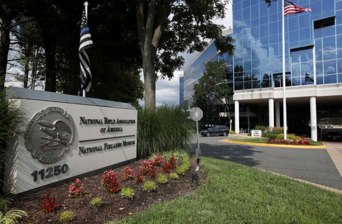 The National Rifle Association (NRA) headquarters in Fairfax, Va., August 6.