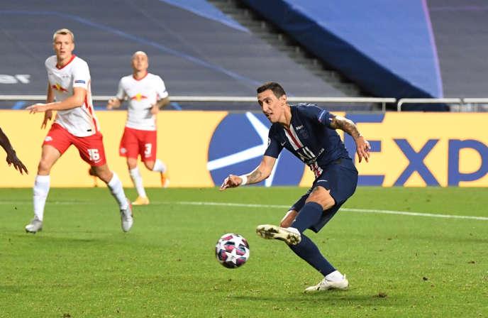 Avec deux passes décisives et un but, Angel Di Maria a porté le Paris-Saint-Germain vers la première finale de Ligue des champions de son histoire.