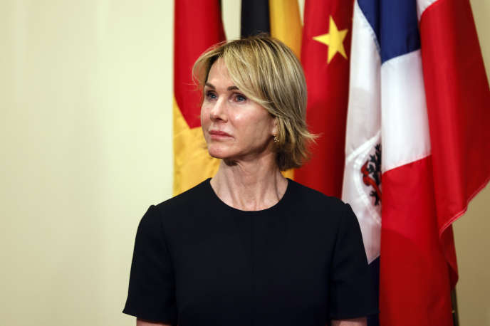 L'ambassadrice américaine à l'ONU, Kelly Craft, le 20 août à New York.