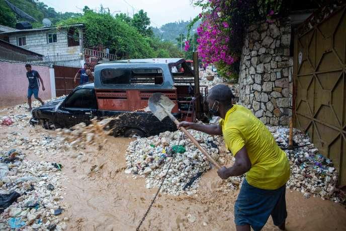A Pétionville, Haiti, le 23 août.