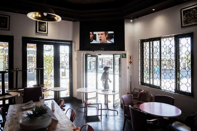 Un restaurant du quartier de Melville, à Johannesburg, le 1ermai 2020.