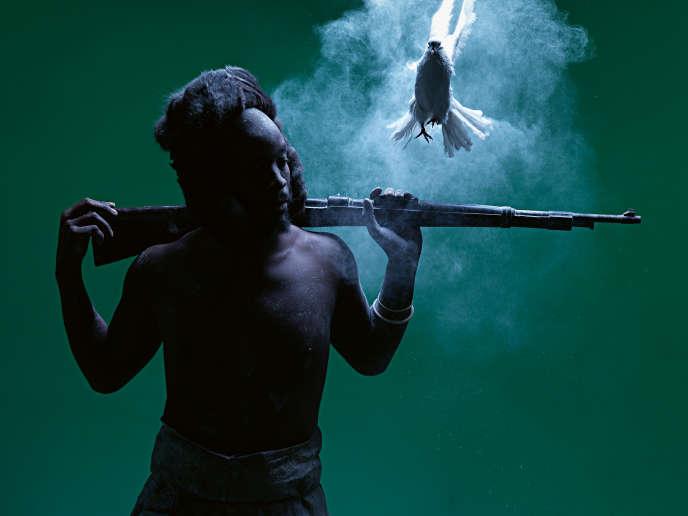 «Ditaola VII», de Mohau Modisakeng, 2014.