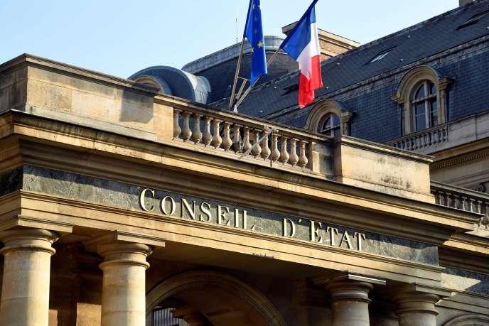 L'entrée du Conseil d'Etat à Paris.