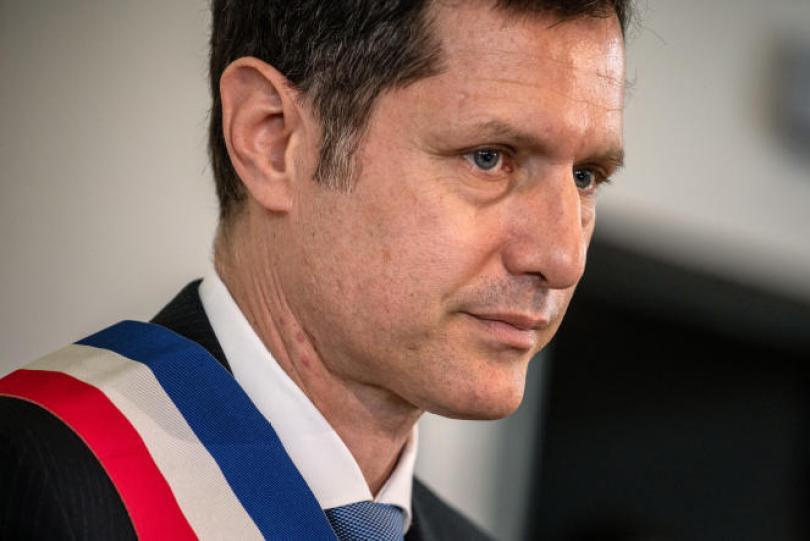 Le maire de Valence, Nicolas Daragon, le 23 mai 2020.