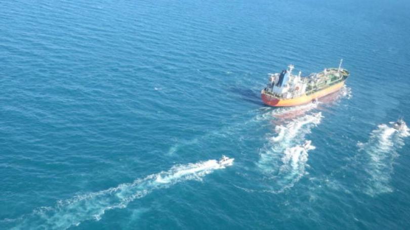 Un pétrolier battant pavillon sud-coréen a été saisi par l'Iran, le 4janvier.