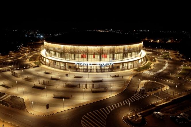 La Kigali Arena au Rwanda, où se tiendral'Afrobasket du 24 août au 5 septembre.