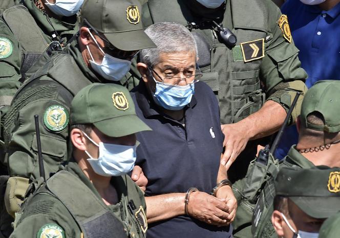 L'ex-premier ministre algérien,Ahmed Ouyahia, qui purge une peine de quinze ans de prison pour corruption, en juin 2020 à Alger.