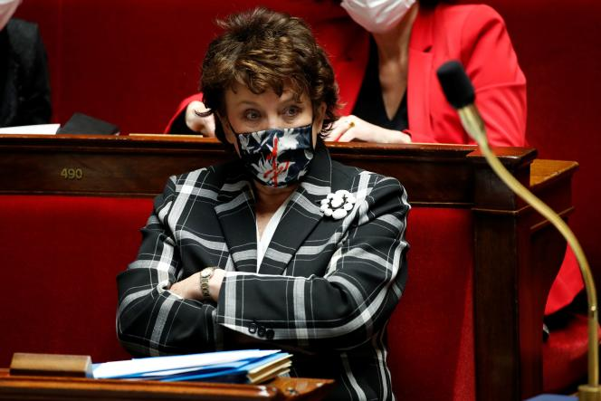 Culture Minister Roselyne Bachelot at the National Assembly, Paris, January 12.